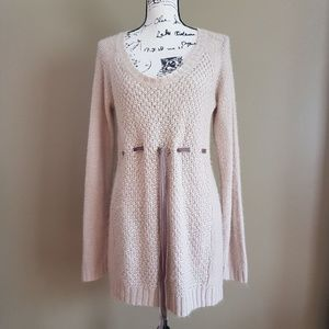 Oh Baby by Motherhood Maternity Sweater Tunic L